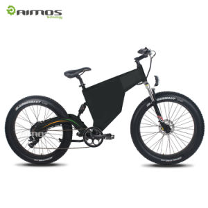 Super Power Stealth Bomber 1000W Fat Tire Electric Bicycle pictures & photos
