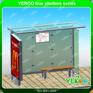 Manufacturer Outdoor Advertising Metal Bus Stop Customized Design pictures & photos
