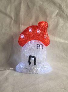 Acrylic Mushroom LED Lighting Christmas Decoraton pictures & photos