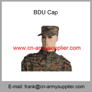 Camouflage Cap-Hat-Army Cap-Police Hat-Military Bdu Cap pictures & photos