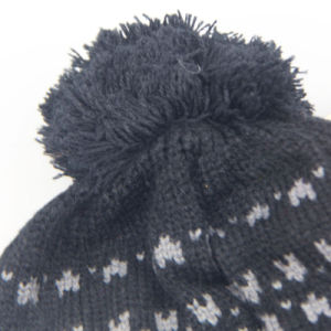 Winter Pompon Hats, Knitting Wool Hat, High Quality Knitted Hat with Ball Top for Women pictures & photos