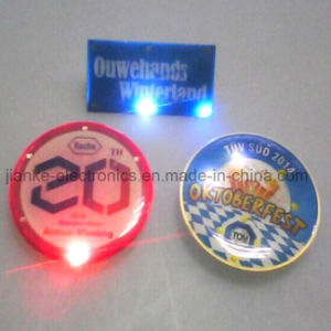 Las Vegas Custom LED Flashing Badges with Logo Printed (3161) pictures & photos