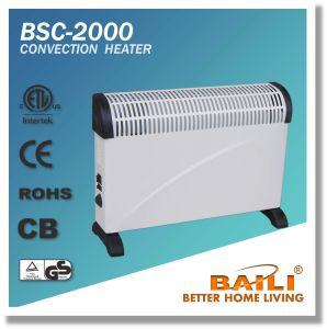 Good Quality 2000W Convection Heater with Thermostat and Turbo Fan pictures & photos