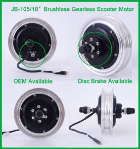 Jb-105-10′′ 10 Inch Scooter Electric Wheel Hub Motor pictures & photos