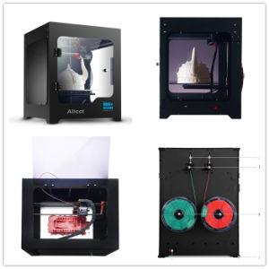 Intelligence LCD-Touch 200X200X200mm Building Whole Sealing 3D Printer From Factory pictures & photos