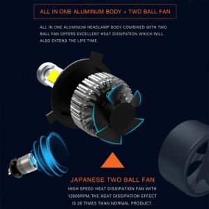 Newest S2 Dual Beam H4 H13 9004 LED Headlight for Toyota pictures & photos