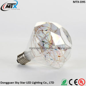 1.5W Creative Modern Lamp Diamond Shape LED D95 Light Bulb pictures & photos