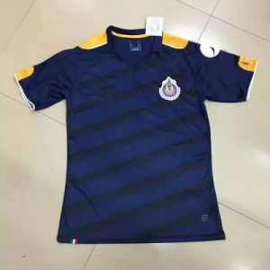 2017 Chivas Black Football Tshirts pictures & photos