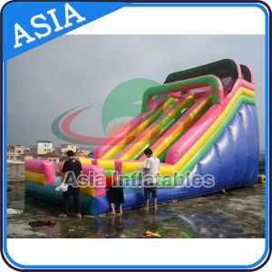 Cheap Commercial Giant Inflatable Slide, Inflatable Jumping Slide for Sale pictures & photos