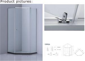 Pivot Hinge Shower Enclosure with Ce/SGCC/CCC Certification (A-CVP026) pictures & photos