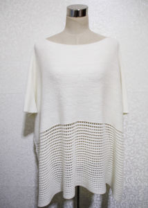 Women Fashion Acrylic Knitted Spring Shawl Poncho (YKY4532) pictures & photos