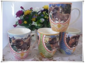Coffee Mug with All Kinds of Animals pictures & photos