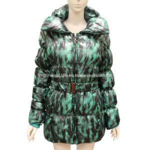 Women′s Long Duck Down Filled Coats