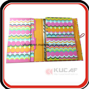 Custom Office Supply A4 Hard Cardboard Ring Binder Notebook pictures & photos