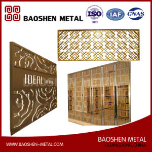 Customized Stainless Steel Screen Partition Divider Fabricated by Trulaser Cutting pictures & photos