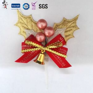 Hot Sale Manufacture 2017 Christmas Cake Decorations with High Quality pictures & photos