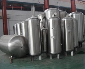 New Stainless Steel Air Storage Tank (pressure vessel) pictures & photos