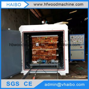 Drying Wood by High Frequency Vacuum Dryer Machine From China