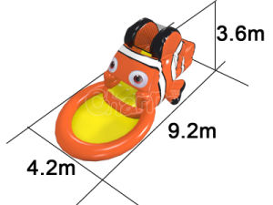 New Design Inflatable Water Pool Slide for Kid′s Party pictures & photos