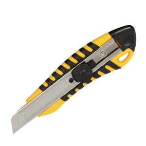 Office Knife & Hardware Tools with Screw Lock & Sharp Blade pictures & photos