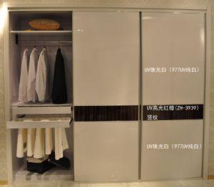 White Melamine Walk in Wardrobe Design (customized) pictures & photos