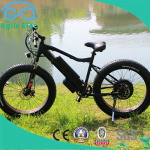 Fat Tire 26 Inch Electric Beach Bike with LED Display pictures & photos