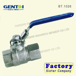 Brass Ball Valve with Good Quality Handle pictures & photos