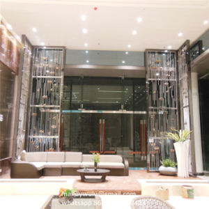 Floor to Ceiling Metal Partition Wall pictures & photos
