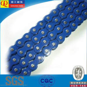 High Quality O-Ring Motorcycle Chain with Blue Color pictures & photos