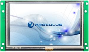 5′′ High Brightness TFT LCD Display with Resistive Touch Screen pictures & photos