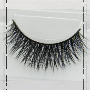 False Eyelashes Handmade Natural Long Thick Mink Fur Eyelashes Soft Fake Eye Lash pictures & photos
