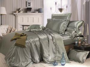 Taihu Snow Home Textile Sheet Oeko-Tex Seamless Silk Bedding Set Bed Linen pictures & photos