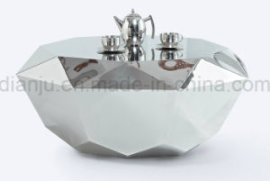 Home Furniture Stainless Steel Special Design Coffee Table (CT811) pictures & photos