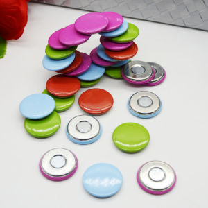 Custom Printing Button Badge with Magnet pictures & photos