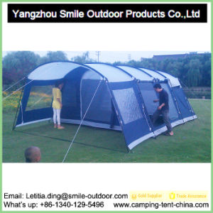 Professional Large 12 Persons Camping Tunnel Family Tents pictures & photos