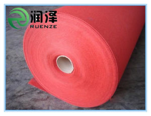 Polyester Needle Punched Red Carpet Roll pictures & photos