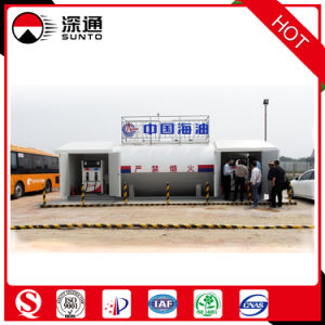 Portable LPG Filling Station/China National Offshore Oil Corporation Mobile Fuel Station Supplier pictures & photos