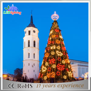 Customize 20FT 30FT 40FT 50FT Large Giant Outdoor Christmas Tree with LED Ball for Shopping Center pictures & photos