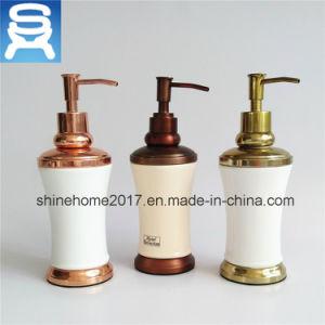 Single Manual Chrome Plating Bathroom Liquid Soap Dispenser pictures & photos