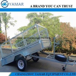 Tipper Trailer with Winch pictures & photos
