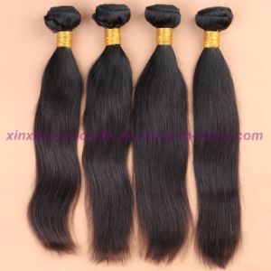 8A Grade Peruvian Virgin Hair Straight Human Hair Extensions Hair Weaving Hair Wefts pictures & photos