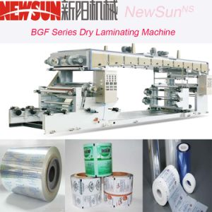 Bgf Series Plastic-Plastic Compounding Dry Laminating Machine pictures & photos