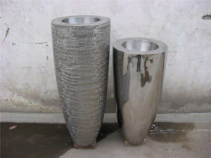 Flower Pot, Metal Stainless Steel Art Furniture Decoration Exhibit, Professional Making Metal Sculpture pictures & photos
