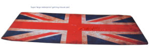 Super Large Waterproof Mouse Pad with British National Flag Design pictures & photos