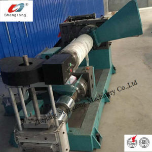 Conical Double-Screw Hot-Cutting PVC Plastic Granulator Making Recycled pictures & photos