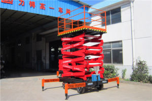 Manual Mobile Aerial Working Platform (SJY0.5-9) pictures & photos