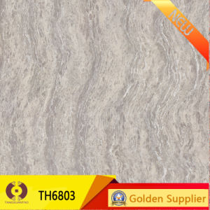 600X600 Super Glossy Polished Porcelain Floor Tiles (TH6803) pictures & photos