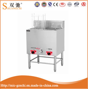 China Supplier 28L Commercial Free Standing Gas Fryer for Sale pictures & photos