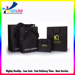High Quality Hot Stamping Logo C2s Paper Bags pictures & photos