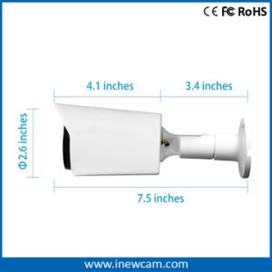 P2p 1080P Poe Bullet IP Camera with Ce RoHS pictures & photos